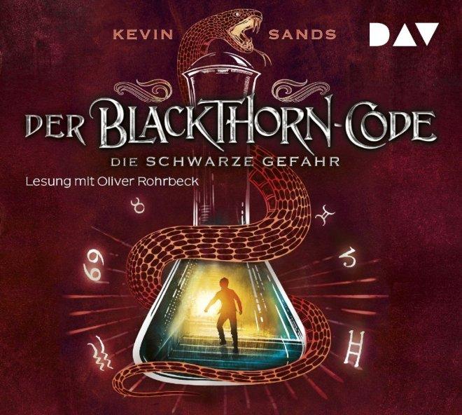 Cover des Hörbuchs Der Blackthorne-Code. Die schwarze Gefahr von Kevin Sands.
