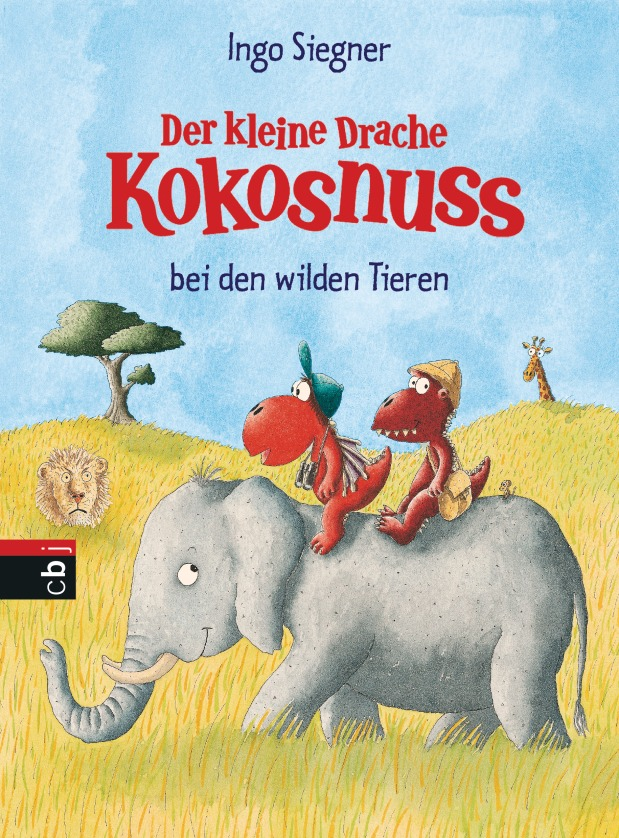 Ingo Siegner: Der kleine Drache Kokosnuss bei den wildenTieren