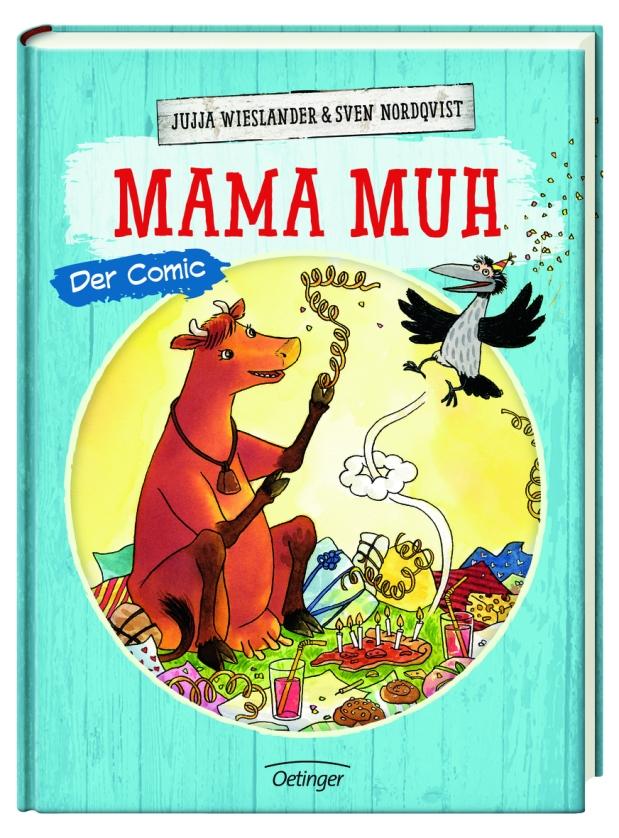 Jujja Wieslander, Sven Nordqvist: Mama Muh. DerComic