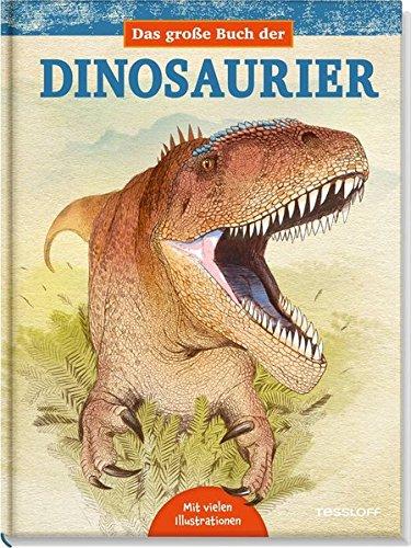 Zeichnung eines Dinos mit weit aufgerissenen Maul