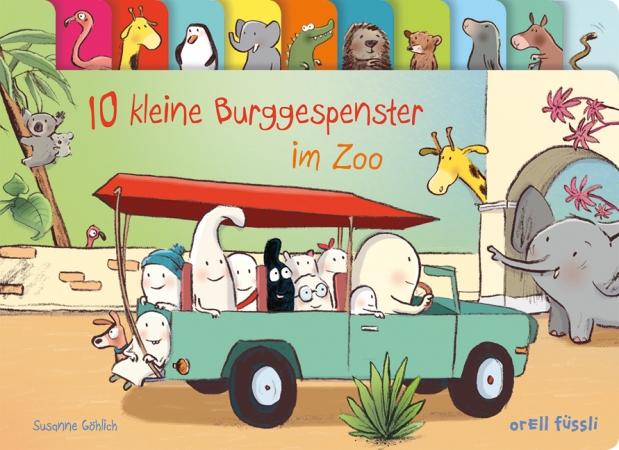 Susanne Göhlich: 10 kleine Burggespenster imZoo