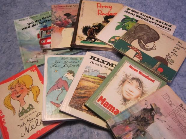 Was haben wir gelesen? Kinderbücher in der DDR und derBundesrepublik