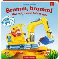 Maria Bogade: Brumm, brumm! Hör mal, meine Fahrzeuge!