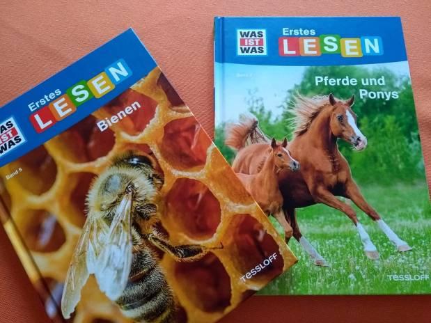 Was ist was: Erstes Lesen. Bienen/Pferde undPonys